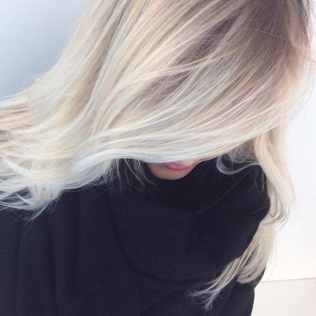 blond polaire femme interesting tendance couleur cheveux femme bronde cheveux femme ide with. Black Bedroom Furniture Sets. Home Design Ideas